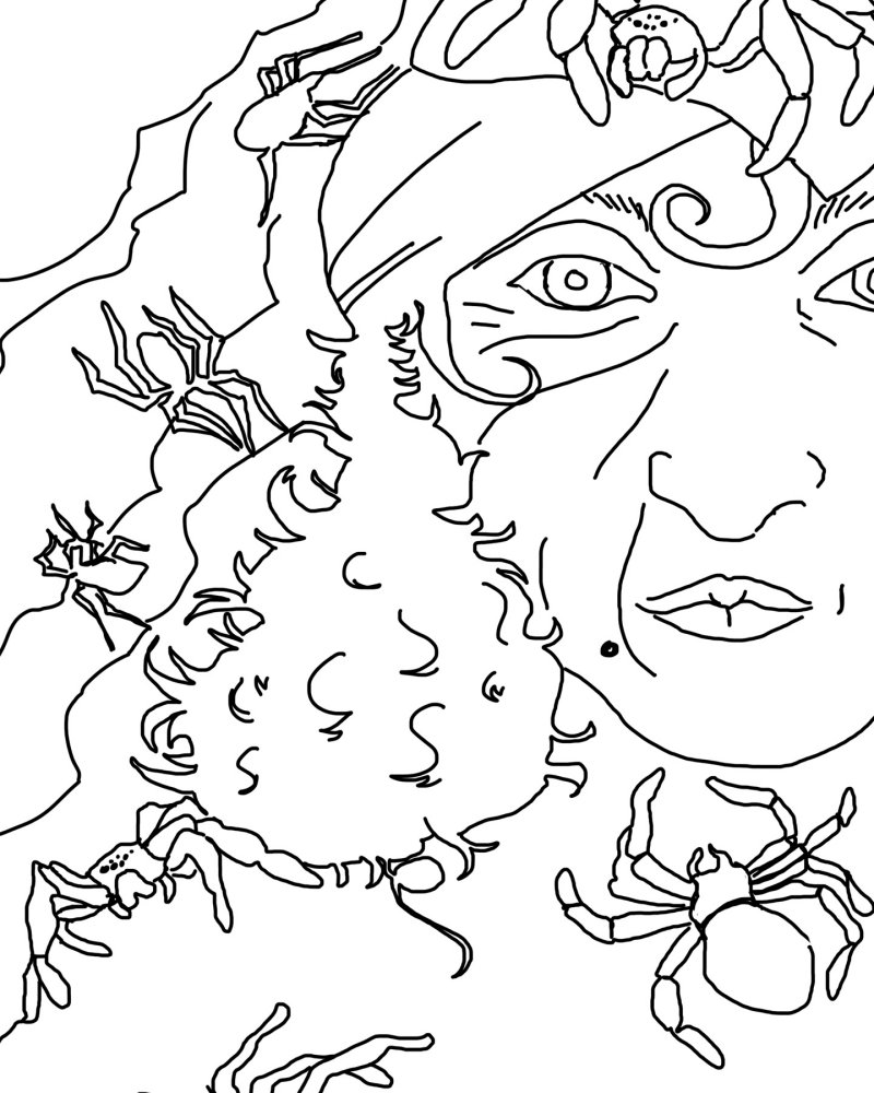 lurid coloring pages - photo#13